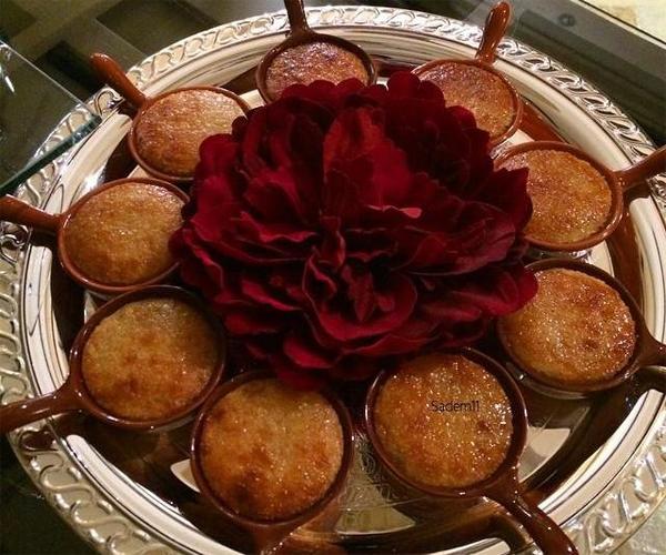 صورة وصفة كيفية طريقة تحضير وعمل وصفات البسبوسة -  بسبوسه مضبوطه بالقشطه هشه وخفيفه وسهلة وسريعة ولذيذة pictures arabian al basbousa cake semolina desserts recipes in arabic easy