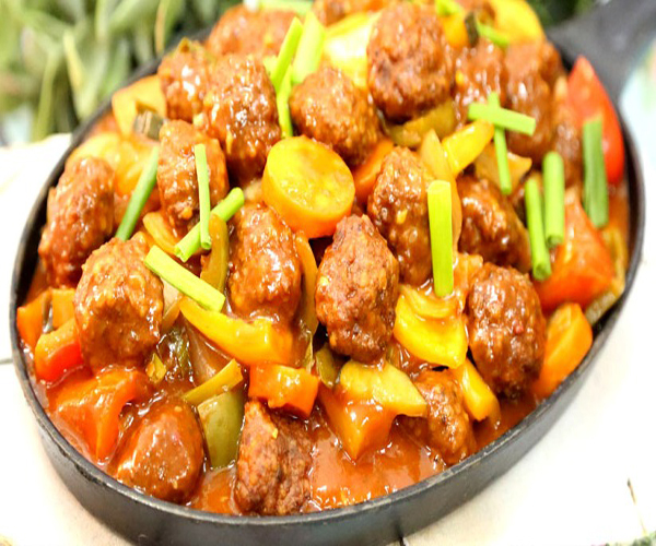 طريقة عمل سويت اند سور بكرات اللحم arabic meat food beef recipes middle eastern sweet and sour meatballs recipe easy