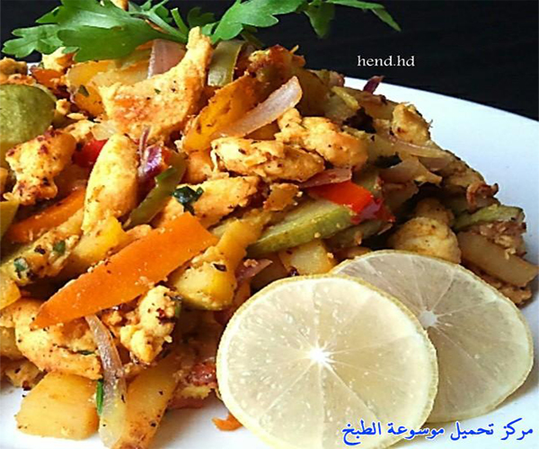 صورة طريقة عمل مقلقل دجاج بالخضار pictures arabian mugalgal food recipes mugalgal chicken recipe easy