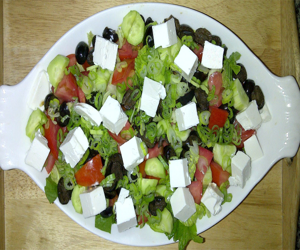 salad arabic recipes cooking in english language