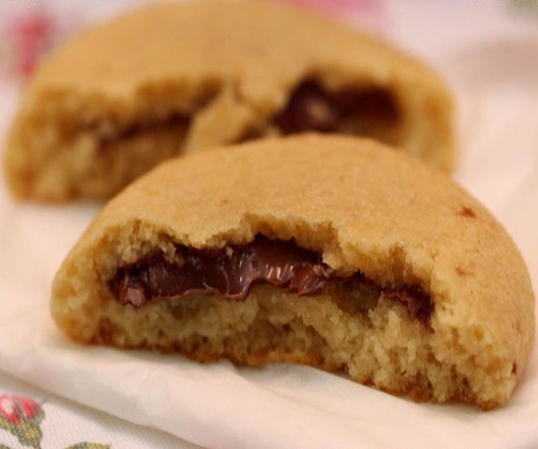 صورة طريقة عمل كوكيز النوتيلا chewy sugar cookie لذيذ سريع وسهل pictures arabian cookies recipes in arabic cookie recipe easy