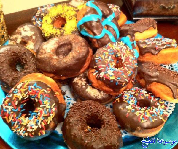 صورة كيفية طريقة عمل دونات في رمضان هشه لذيذه سريعه وسهله pictures arabian doughnut recipes donuts in arabic easy