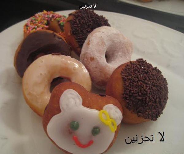 صورة كيفية طريقة دونات لا تحزنين هشه يومين اللذيذة سهله ولذيذة وسريعه pictures arabian doughnut recipes donuts in arabic easy