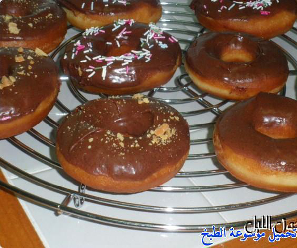 صورة كيفية طريقة عمل الدونات المقلية هشه لذيذه سريعه وسهله pictures arabian doughnut recipes donuts in arabic easy