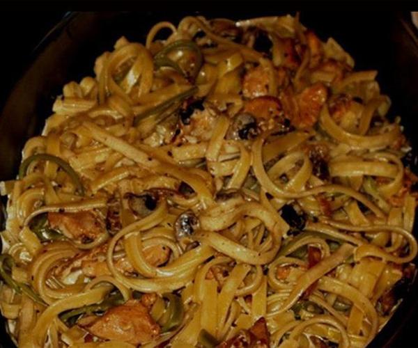 صورة طريقة عمل فيتوتشيني الفريدو من مطبخ شذى لذيذه سريعه وسهله pictures arabian fettuccine pasta recipes in arabic food recipe easy