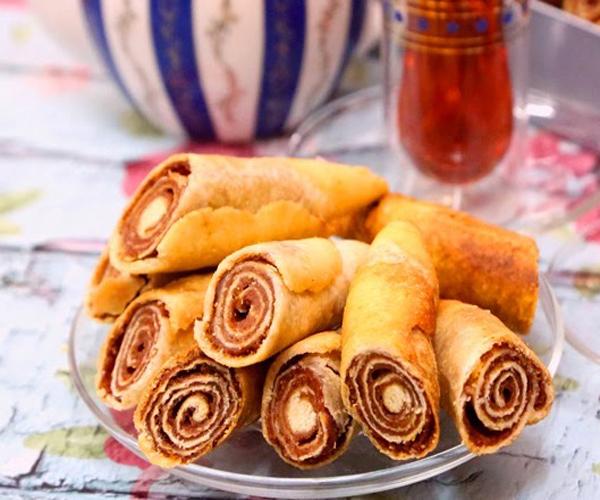 صورة وصفة كيفية طريقة تحضير وعمل وصفات المعمول - معمول التمر الحلزوني سهلة وسريعة ولذيذة pictures arabian maamoul recette recipes in arabic easy