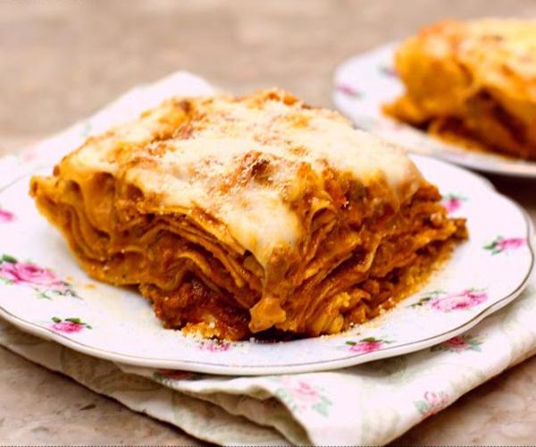 صورة كيفية طريقة تحضير وعمل مكرونة لازانيا باللحم المفروم سهله ولذيذه وسريعه pictures arabian macaroni pasta recipes in arabic easy
