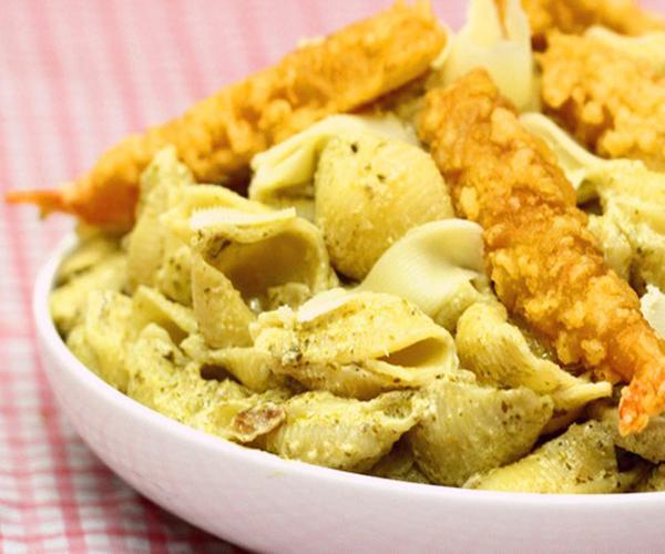 صورة كيفية طريقة تحضير وعمل مكرونة البيستو سهله ولذيذه وسريعه pictures arabian macaroni pasta recipes in arabic easy