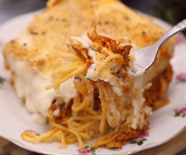 صورة كيفية طريقة تحضير وعمل صينية مكرونه بالبشاميل بالدجاج سهله ولذيذه وسريعه pictures arabian macaroni pasta recipes in arabic easy