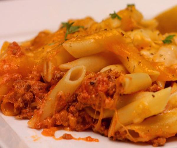 صورة كيفية طريقة تحضير وعمل مكرونة بالفرن سهله ولذيذه وسريعه pictures arabian macaroni pasta recipes in arabic easy