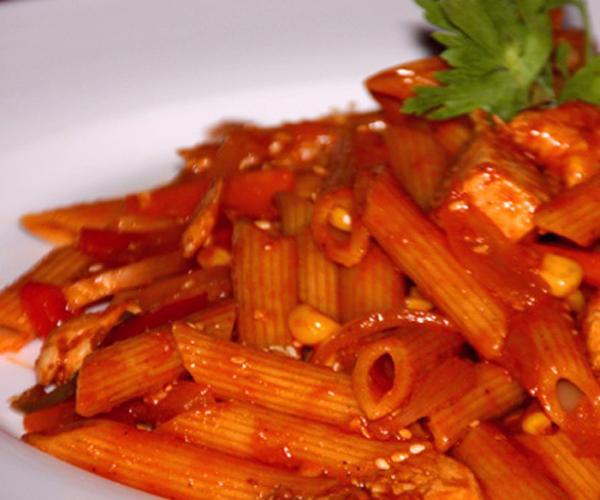صورة كيفية طريقة تحضير وعمل مكرونة بانيني سهله ولذيذه وسريعه pictures arabian macaroni pasta recipes in arabic easy