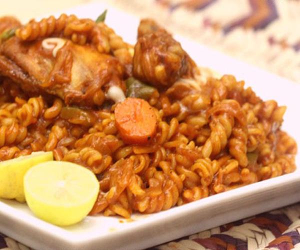 صورة كيفية طريقة تحضير وعمل مكرونة مرخرخه سهله ولذيذه وسريعه pictures arabian macaroni pasta recipes in arabic easy