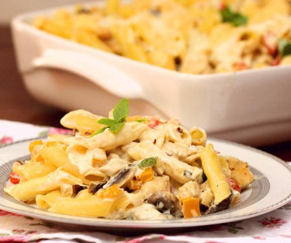 صورة كيفية طريقة تحضير وعمل مكرونه باستا بالكريمه سهله ولذيذه وسريعه pictures arabian macaroni pasta recipes in arabic easy