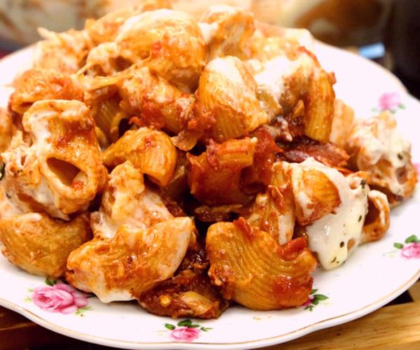 صورة كيفية طريقة تحضير وعمل المكرونة بالدجاج والكريمة سهله ولذيذه وسريعه pictures arabian macaroni pasta recipes in arabic easy