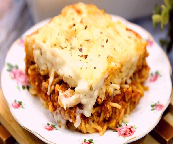 صورة كيفية طريقة تحضير وعمل مكرونة الدجاج بالبشاميل سهله ولذيذه وسريعه pictures arabian macaroni pasta recipes in arabic easy