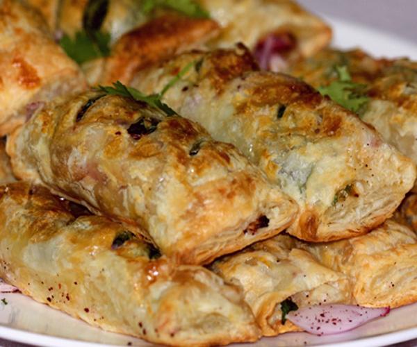 صورة طريقة عمل فطائر فطاير كباب بالبف باستري لذيذه سريعه وسهله pictures arabian pie fatayer recipes in arabic food recipe easy