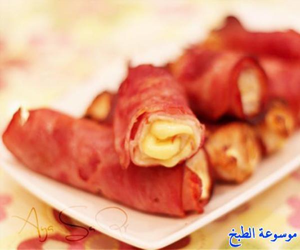 صورة طريقة عمل فطائر خفايف التوست بالجبن والبسطرمة لذيذه سريعه وسهله pictures arabian pie fatayer recipes in arabic food recipe easy