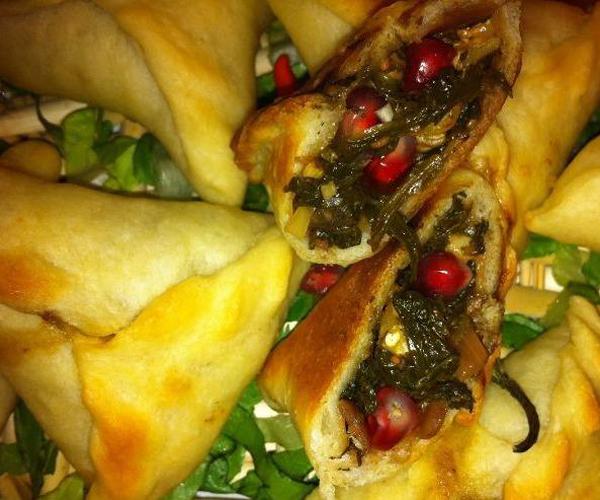صورة طريقة عمل فطائر السبانخ لذيذه سريعه وسهله pictures arabian pie fatayer recipes in arabic food recipe easy