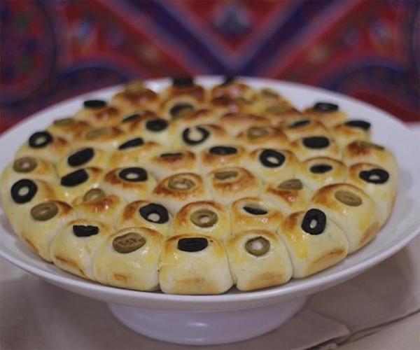 صورة طريقة عمل فطائر فطاير خلية النحل المالحة لذيذه سريعه وسهله pictures arabian pie fatayer recipes in arabic food recipe easy