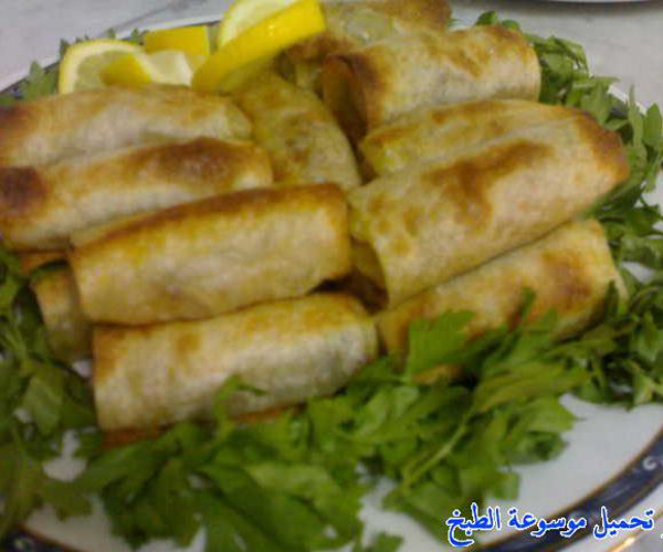 صورة كيفية طريقة تحضير عمل صينيه سمبوسه سهلة ولذيذة وسريعة pictures arabian samosa pastry recipes in arabic easy