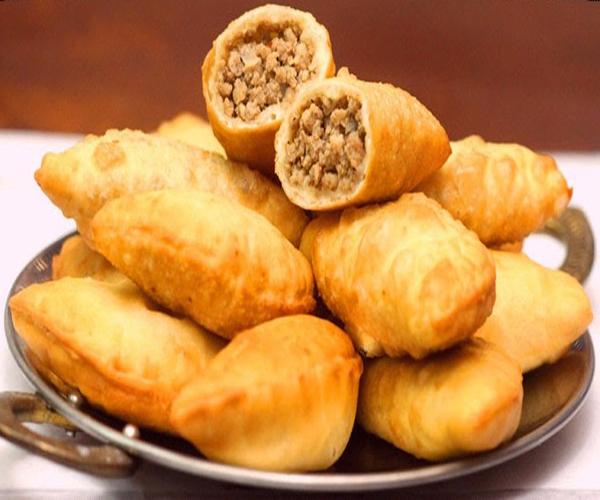 صورة كيفية طريقة تحضير سمبوسه باللحم المفروم + عجينة السمبوسه سهلة ولذيذة وسريعة pictures arabian samosa pastry recipes in arabic easy