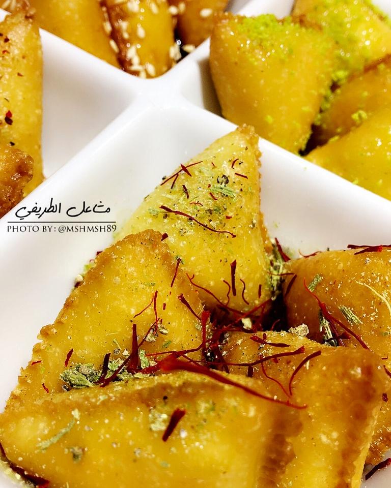 http://www.encyclopediacooking.com/food-recipes-photos/arabic-food-cooking-recipes-in-arabic-triangles-semolina-mashael-al-tarifi2.jpg