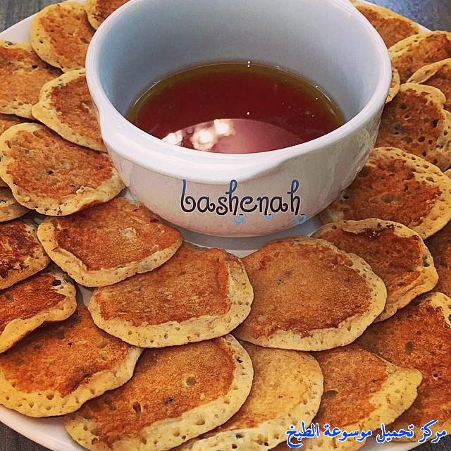 al massabeb recipes in arabic-طريقة عمل المصابيب الحلوة وتسمى المراصيع - المراقيش - المصابيب - الرغفان - مراهيف