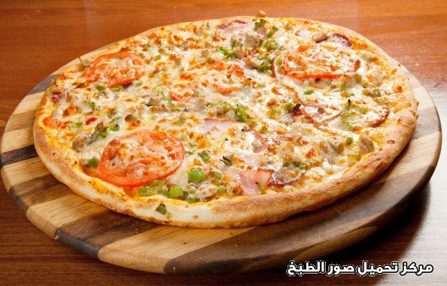 حورية المطبخ بيتزا بأربعة أنواع جبنة