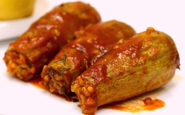 طريقة عمل صينية محشي كوسا بالصورmiddle eastern homemade appetizers food recipes arabic