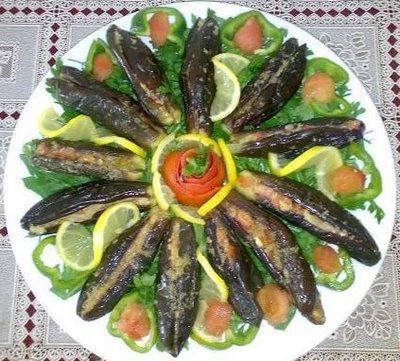طريقة عمل مخلل باذنجان على الطريقة المغربية بالصور how to pickle