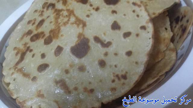 al massabeb recipes in arabic-طريقة عمل مراصيع سريعه وسهله ولذيذه وتسمى المراصيع - المراقيش - المصابيب - الرغفان - مراهيف