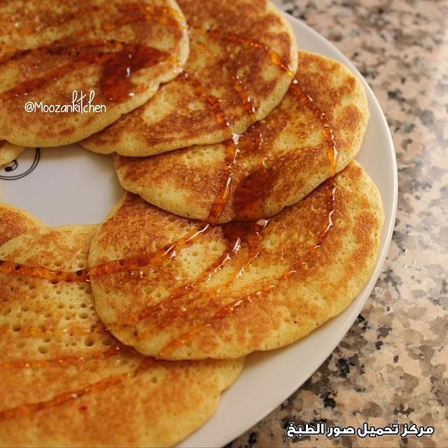 al massabeb recipes in arabic-طريقة عمل المصابيب لشخصين وتسمى المراصيع - المراقيش - المصابيب - الرغفان - مراهيف
