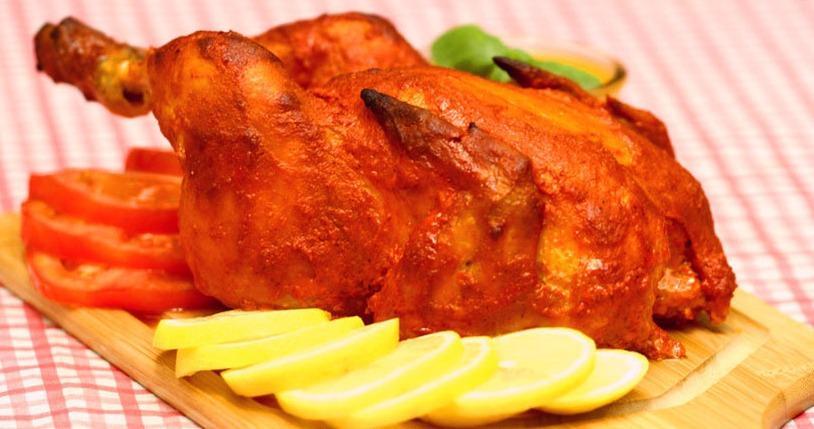 صورة وصفة كيفية عمل اطباق ساخنة رئيسية فروحة الامارات بالصور سهله وسريعه ولذيذة