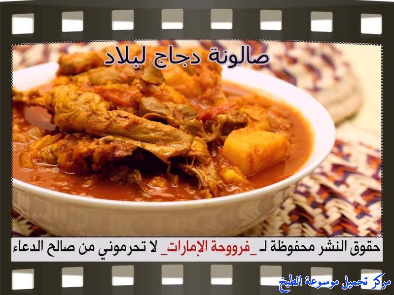 -emirates-frooha-arabic-food-cooking-recipes-وصفات-اطباق-ساخنة-رئيسية-فروحة-الامارات-بالصور-طريقة عمل الذ صالونة دجاج منزلي لذيذة بالصور