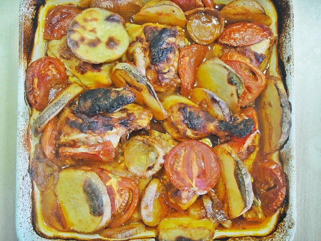 Iraqi chicken tepsi recipe httpencyclopediacookinguploadrecipesonlineuploadsimageshow forumfinder Images