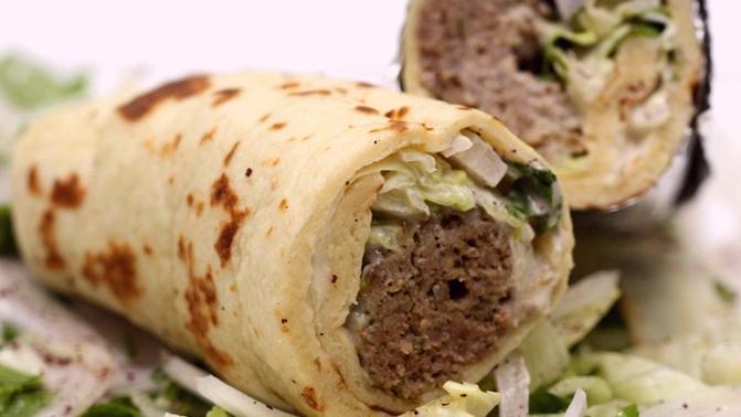 middle eastern homemade sandwich food recipes arabic طريقة عمل ساندوتش الكباب بالصور