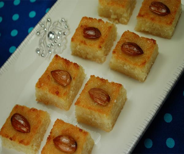 صورة طريقة عمل البسبوسه لذيذه سريعه وسهله pictures arabian basbousa sweets desserts recipes in arabic food recipe easy