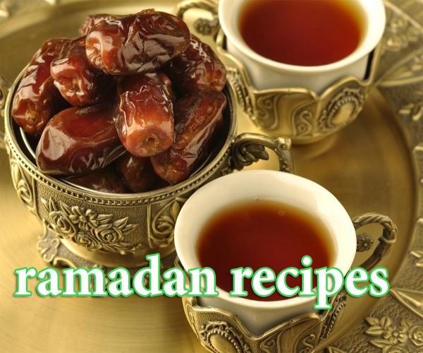 اطباق واكلات رمضان