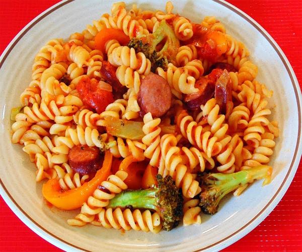 صورة طريقة عمل وطبخ المكرونة لذيذة سريعة وسهلة pictures arabian cooking-pasta recipes in arabic food recipe easy