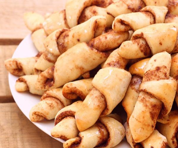 صورة وصفة كيفية طريقة تحضير وعمل وصفات حلويات السينابون - كروسان سينابون سهل وهش وروعة وسريع ولذيذ pictures arabian cinnabon cinnamon rolls recette recipes in arabic easy