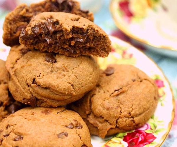 صورة طريقة عمل الكوكيز لذيذ سريع وسهل pictures arabian cookies sweets desserts recipes in arabic food recipe easy