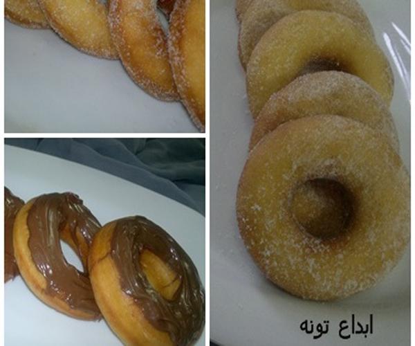 صورة كيفية طريقة الدونات اللذيذة سهله ولذيذة وسريعه pictures arabian doughnut recipes donuts in arabic easy