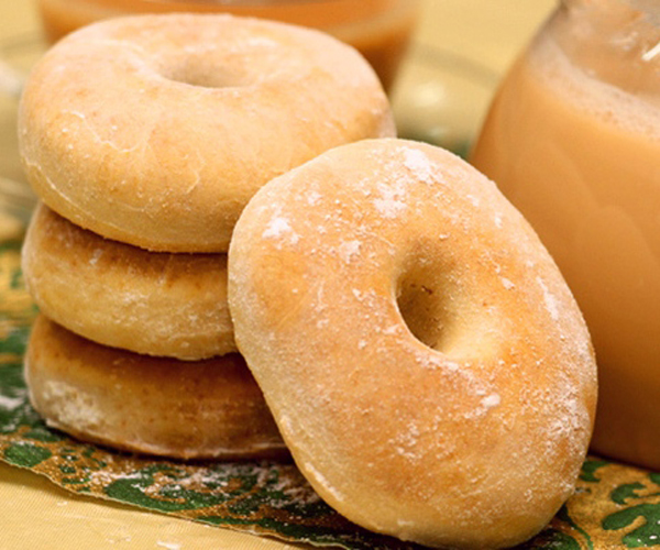 صورة كيفية طريقة عمل دونات بالفرن الهشة لذيذه سريعه وسهله pictures arabian doughnut recipes donuts in arabic easy