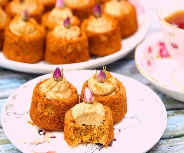 صورة وصفة كيفية طريقة تحضير وعمل حلى منزلي حلى بسبوسة اللوتس سهل ولذيذ وسريع pictures arabian homemade desserts recipes candy in arabic sweets easy