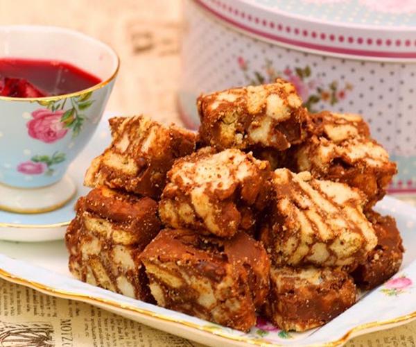 صورة وصفة كيفية طريقة تحضير وعمل حلى منزلي حلى روكي رود سهل ولذيذ وسريع pictures arabian homemade desserts recipes candy in arabic sweets easy