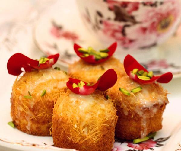 صورة وصفة كيفية طريقة تحضير وعمل حلى منزلي حلى كيكة الشعيريه سهل ولذيذ وسريع pictures arabian homemade desserts recipes candy in arabic sweets easy