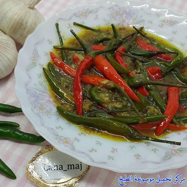 -tursu torshi recipe arabic-طريقة عمل مخللات اجار طرشي اشار الفلفل الحار الجاوي بالصور