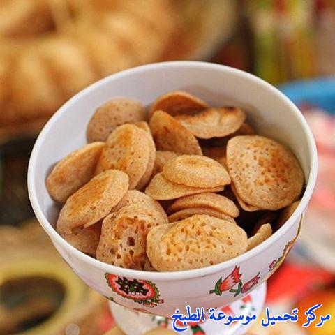 al massabeb recipes in arabic-طريقة عمل ميني مراصيع وتسمى المراصيع - المراقيش - المصابيب - الرغفان - مراهيف