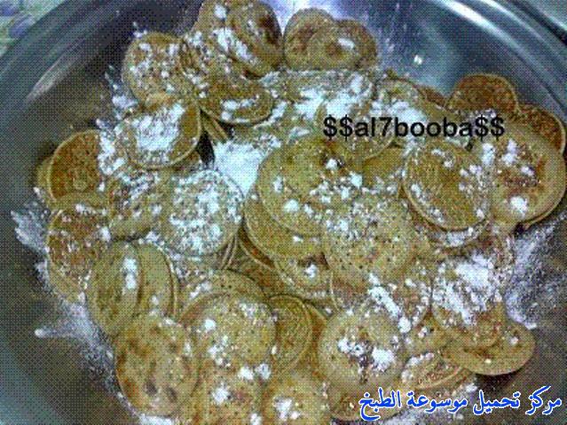 al massabeb recipes in arabic-طريقة عمل المصابيب الحلوة السعودية وتسمى المراصيع - المراقيش - المصابيب - الرغفان - مراهيف