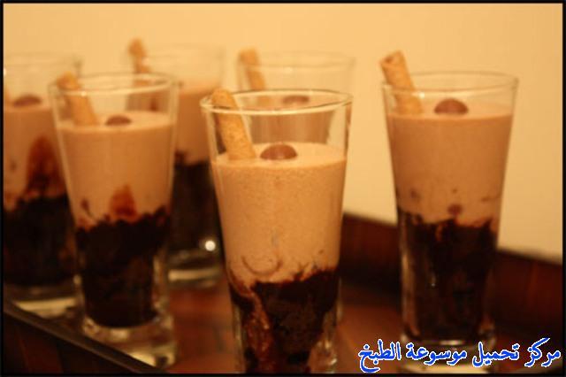 صورة وصفة كيفية طريقة تحضير وعمل وصفات حلى الكاسات - حلى كاسات روعه سهل وسريع ولذيذ pictures arabian sweet cup desserts recipes in arabic easy
